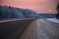 По дороге на закат
